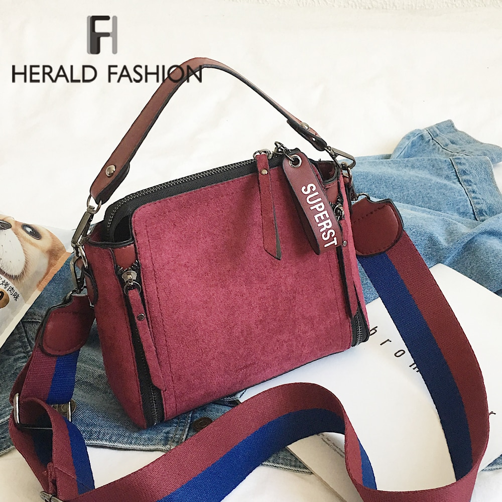 Scrub Leather Solid Color Crossbody Bags Women Bag Luxury Vintage Female Shoulder Bags Famous Brands Ladies Handbag Tote