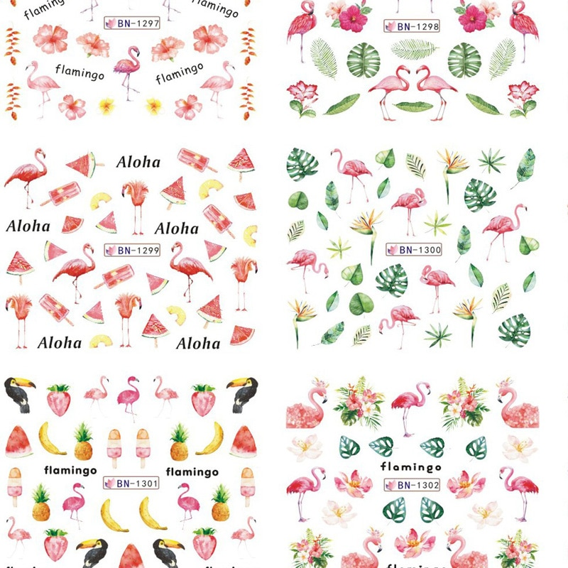 156 diseños 1 lote = 12 hojas VINTAGE romano PARIS AUDREY agua NAIL ART pegatinas BN01-BN156