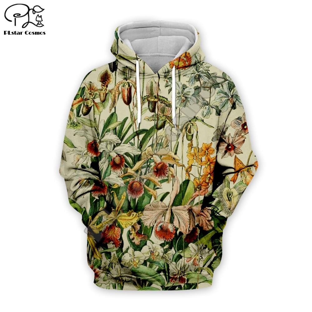 Newest colorful fashion flowers Men hoodies sweatshirt 3D Print Women casual Hooded Dropshipping FL-001
