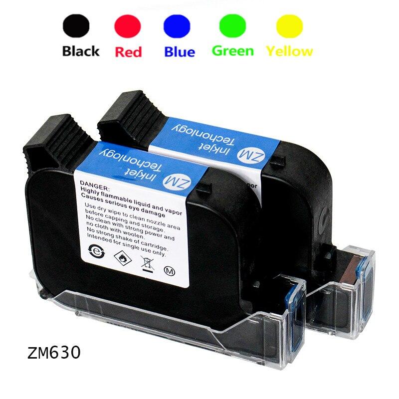 ZM-630 Hand-held Inkjet Printer Special Quick-drying Ink Cartridge Original Online Handheld Universal Quick-drying Ink Cartridge