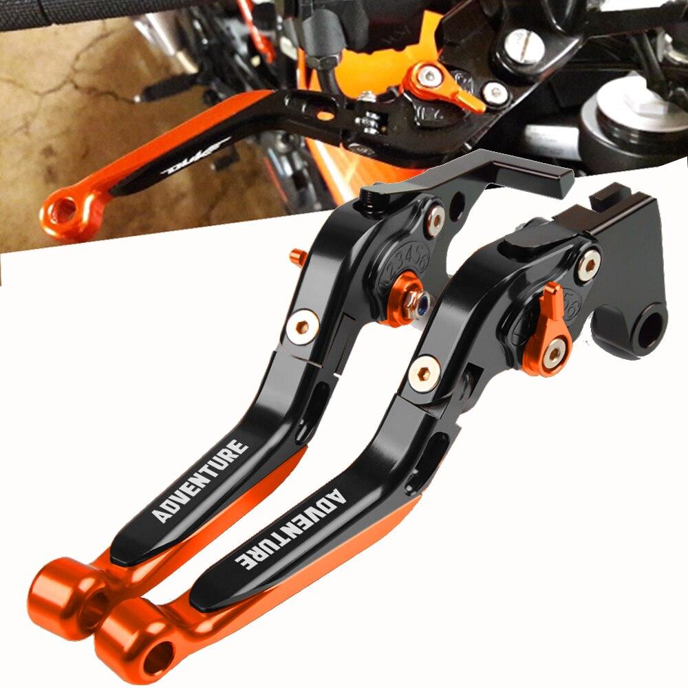 Для KTM 790 640 1190 1090 1290 990 Adventure 2003-2012 ручка тормоза мотоцикла CNC регулируемый тормозной рычаг сцепления ручной Бар