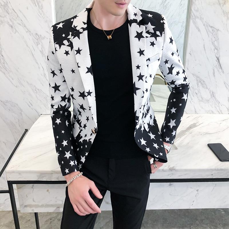 2021 брендовая одежда, мужской весенний высококачественный костюм для отдыха/Мужской приталенный модный Блейзер/Мужская одежда, Мужской Бле...