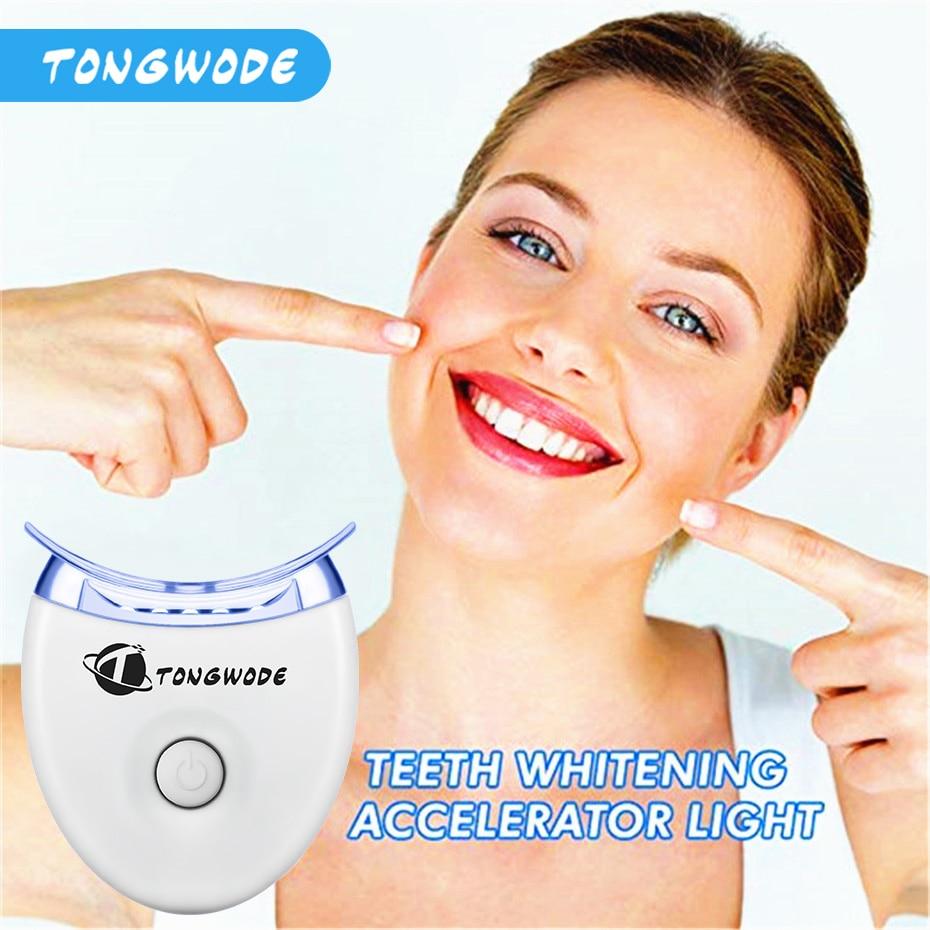 Recién llegado, Kit de blanqueamiento Dental con luz Led más rápido para blanquear los dientes, Gel de luces blanqueador de dientes o sonrisa blanqueadora