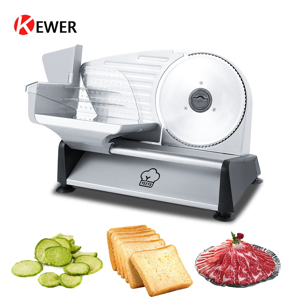 قطاعة لحم كهربائية منزلية ، متعددة الوظائف ، 110 فولت/220 فولت ، تقطيع لحوم ، مطبخ شبه أوتوماتيكي ، تقطيع فواكه وخضروات