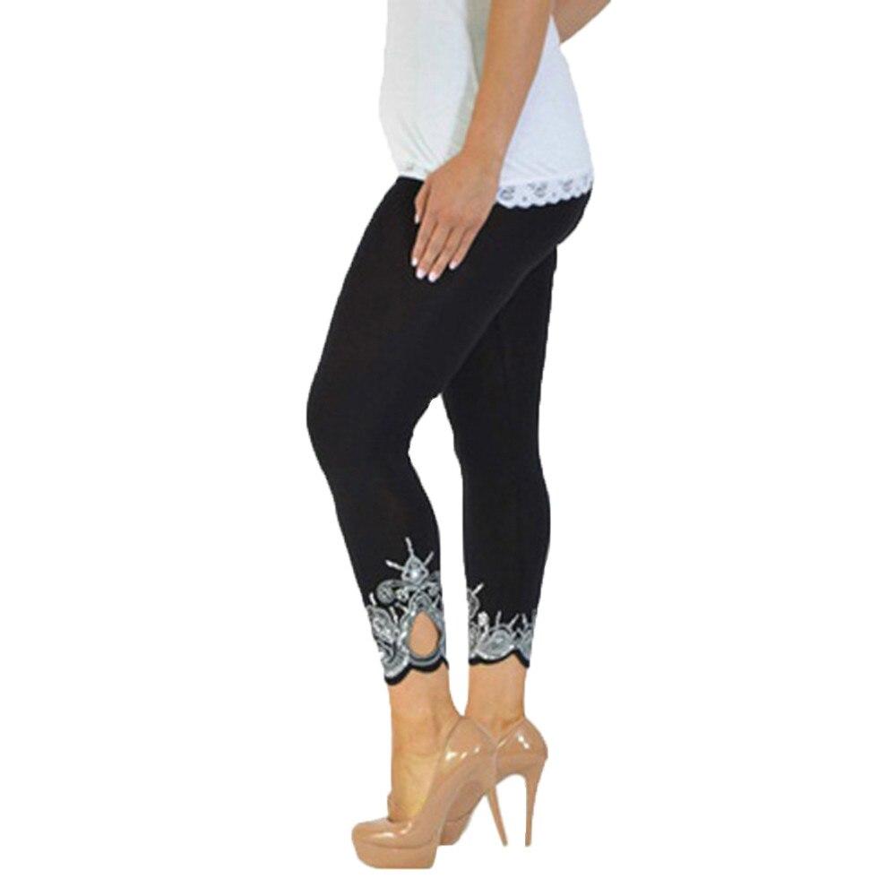 Mallas huecas De entrenamiento deportivo para Mujer, mallas elásticas deportivas para correr...