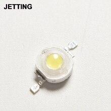 10 PCS/lot haute puissance 1W LED puces perles ampoule Diode lampe blanc chaud pour projecteur LED 100-110LM
