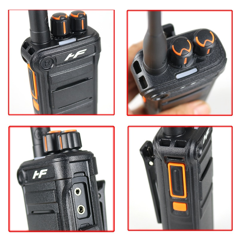 High power interphone, CB two-way remote interphone, professional ham UHF interphone, 8W communicator, 2 sets, CN(Origin) enlarge