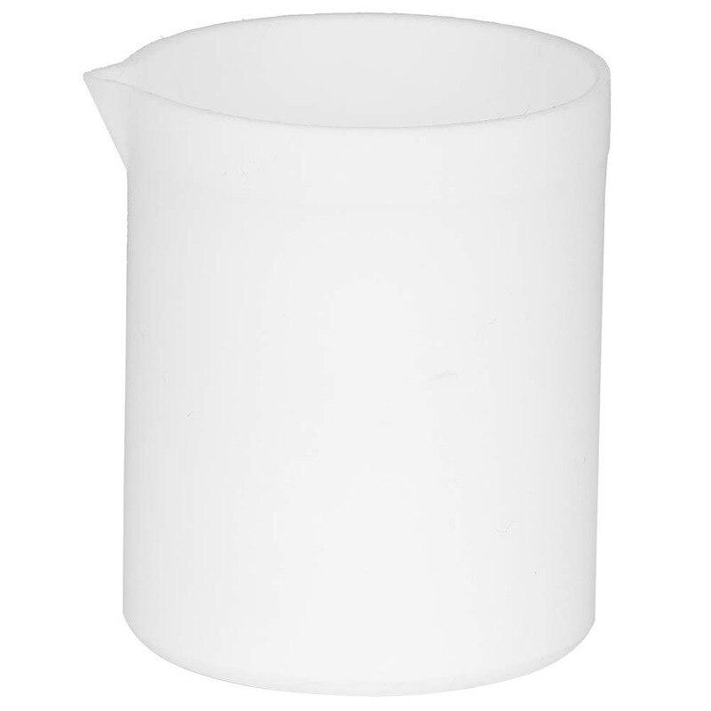 Стакан тетрафторо, устойчивый к кислотам и щелочам, стакан с высокой смазкой, белый лабораторный мерный стакан (30-300 мл)