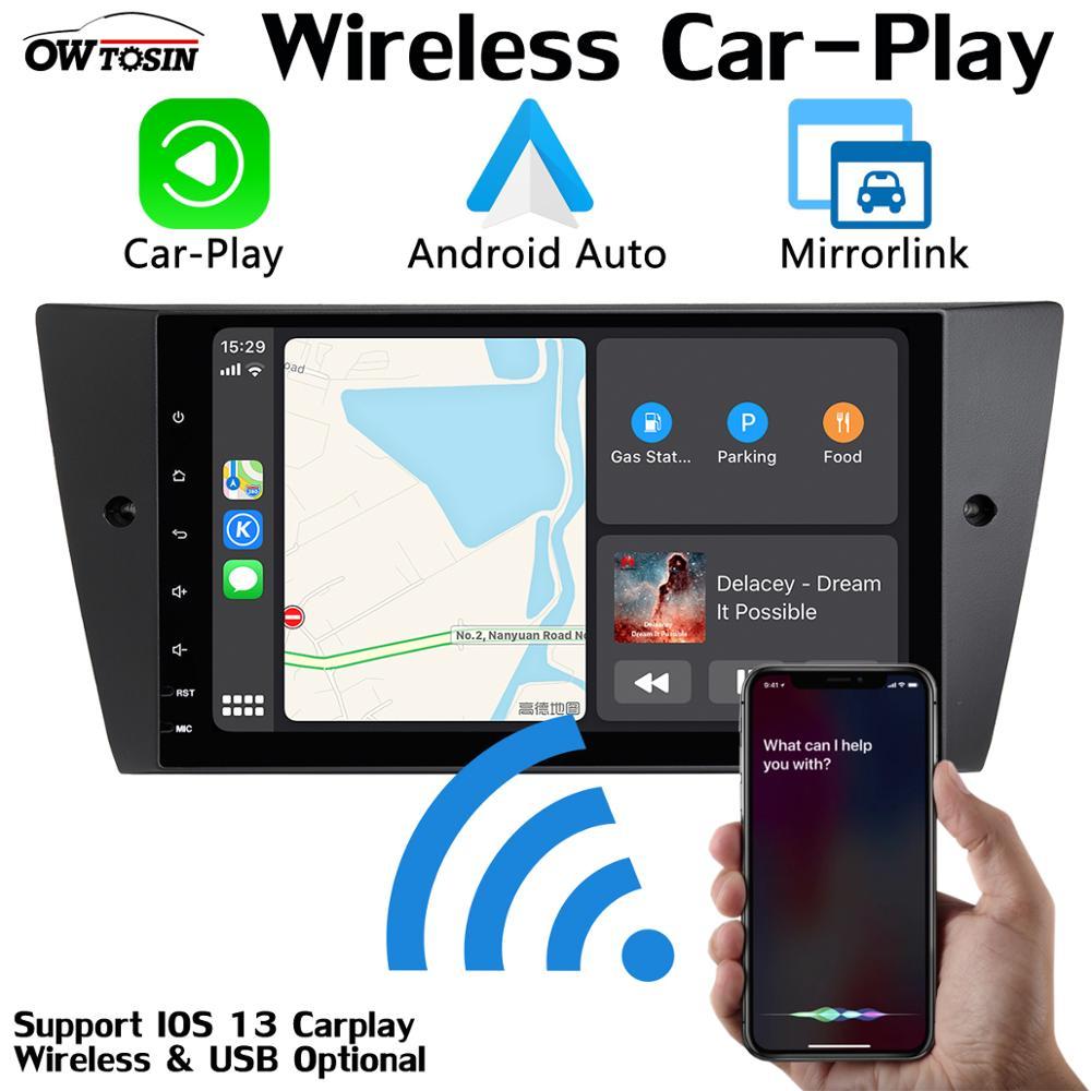 "9 ""PX6 4GB + 64GB Android Radio, GPS, reproductor multimedia para coche reproductor para BMW Serie 3 318 320i M3 E90 E92 E91 E93 330 Auto 328 CarPlay DSP"
