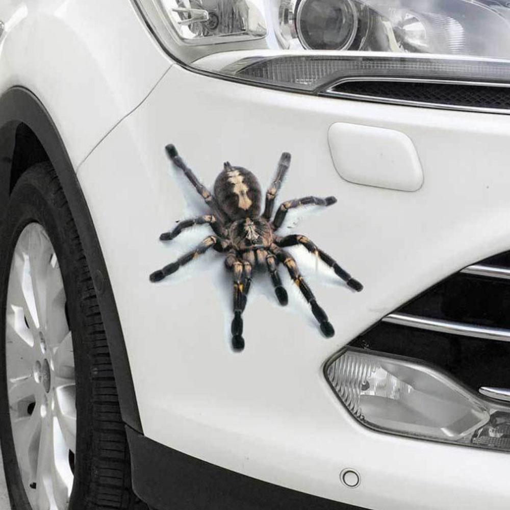 3d adesivo de carro aranha adesivos retrofit para toyota corolla nissan qashqai suzuki sx4 toyota c-hr renault fluence