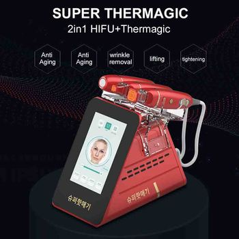 2 In 1 Multi-functional Thermagic devices Hifu machine professionnel RF Beauty Skin Tightening Salon equipment use