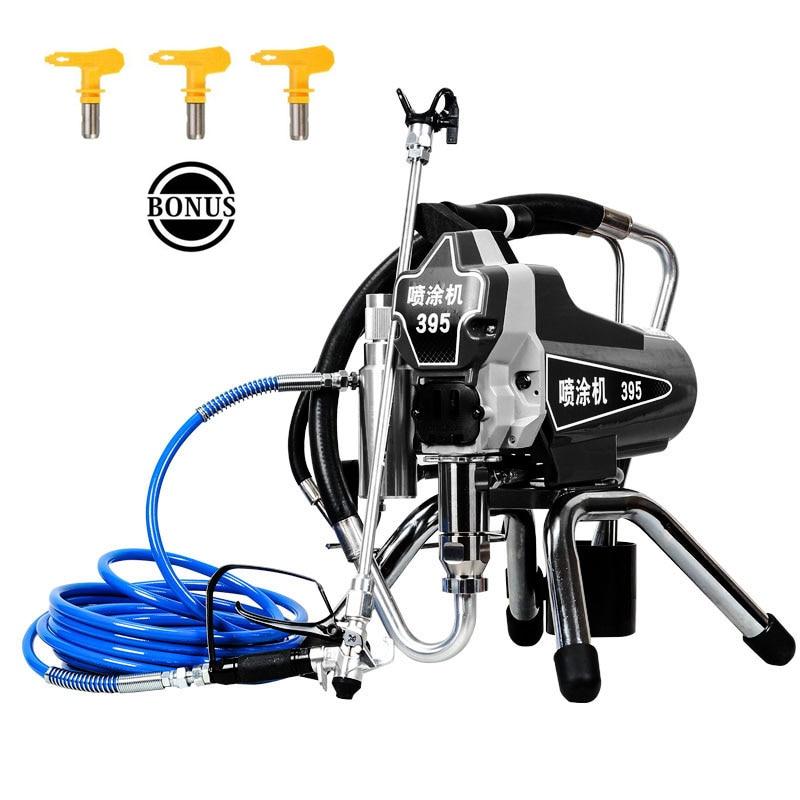 High-pressure airless spraying machine Professional Airless Spray Gun Airless Paint Sprayer 390&395 painting machine tool