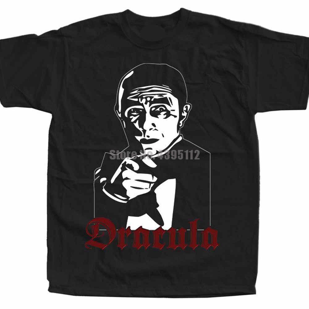 Póster de la película de Drácula, camiseta informal de hombre, camiseta de Rock, camisetas de bombero, camisas rusas de estilo japonés Rtczzn