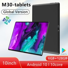 M30 Pro tablete 10.1 inch tablette android 6GB RAM+128GB ROM tablet pc 10 core ANDROID TABLET Game T