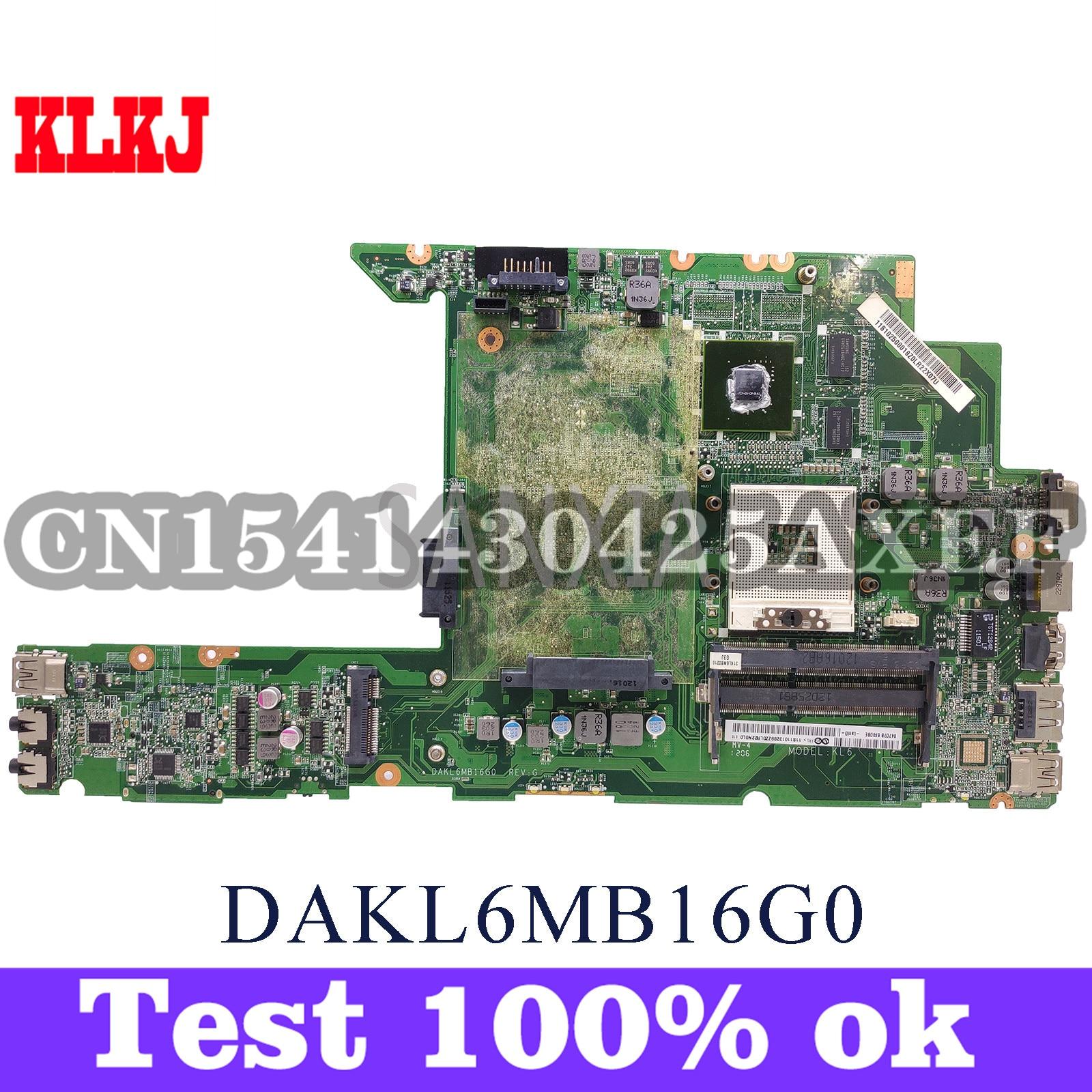 KLKJ DAKL6MB16G0 اللوحة الأم للكمبيوتر المحمول لينوفو Z470 اللوحة الرئيسية الأصلية