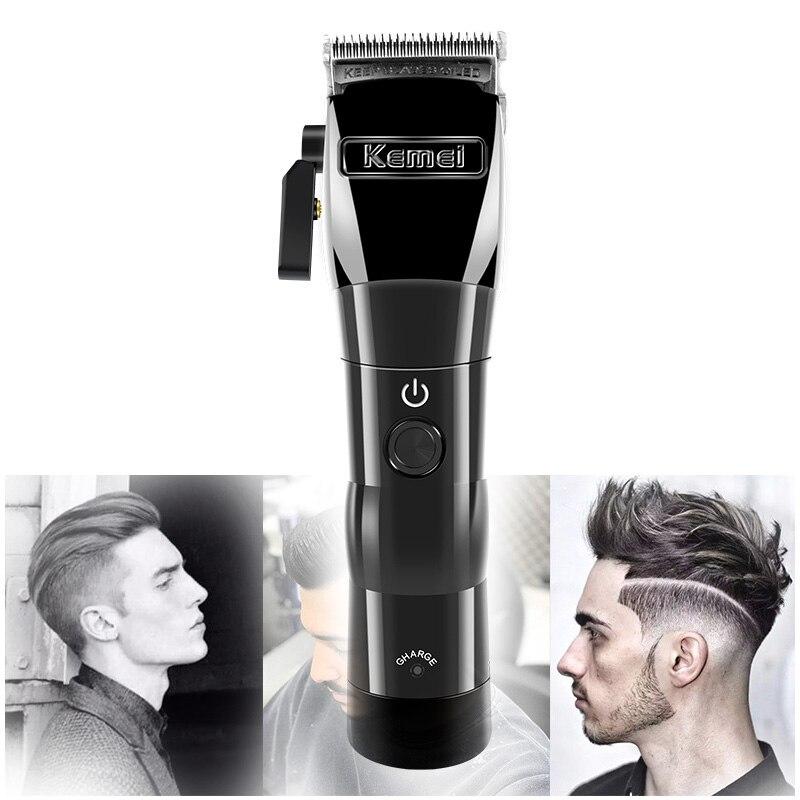 Cortadora de pelo kemei KM- 2850, cortadora de pelo, cabezal de aceite, cortadora eléctrica, cortadora de acero, carga inalámbrica, cortadora de pelo eléctrica