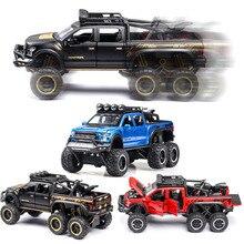 1:24 ford f150 modelo de carro liga carro de brinquedo fundido modelo de carro puxar para trás brinquedo das crianças collectibles frete grátis
