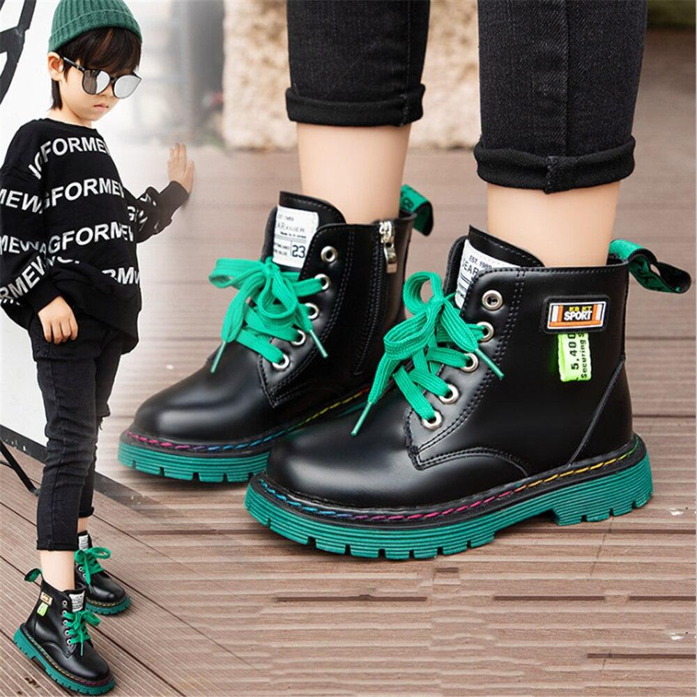 Ботинки для девочек, ботильоны для девочек, детские ботинки, новинка 2021, детские ботинки Martin, ботинки для девочек, обувь для мальчиков
