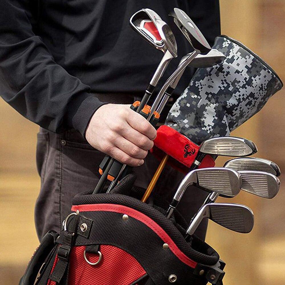 Переноска для гольф-клуба, кронштейн для спорта на открытом воздухе, держатель для гольф-клуба, компактный органайзер для переноски, удобно ...