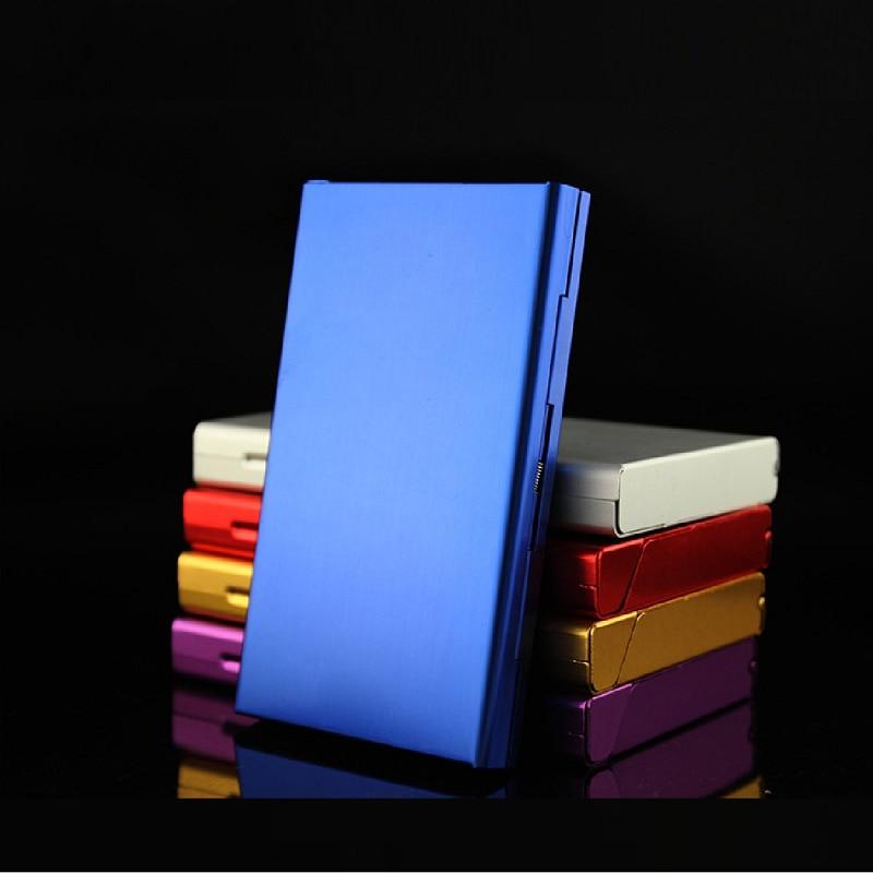 Cute Cigarette Case for Women Fashion 20Pcs Ultra Thin Creative Women's Cigarette Case Metal Cigarette Box enlarge