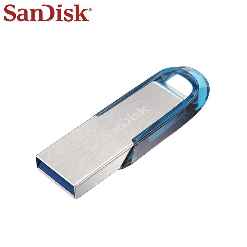 SanDisk-Pendrive USB 3,0 de alta velocidad, memoria Usb de 128GB, Memoria USB,...