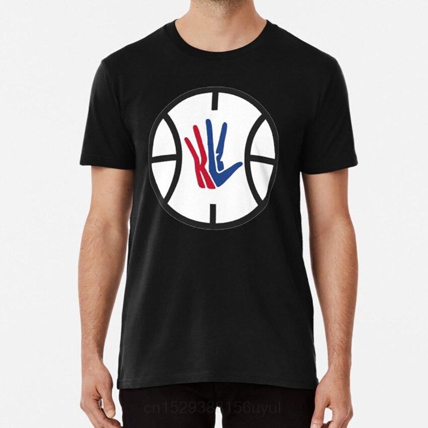 Kawhi-cortauñas con Logo de LA camiseta, ropa de deporte, mordedor, mordedor