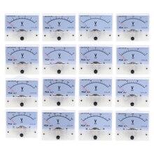 DC Аналоговая Панель вольтметр 85C1 DC 30V Вольтметр Калибр 1V 2V 3V 5V 10V 15V 20V 30V 50V 75V 150V механический измеритель напряжения