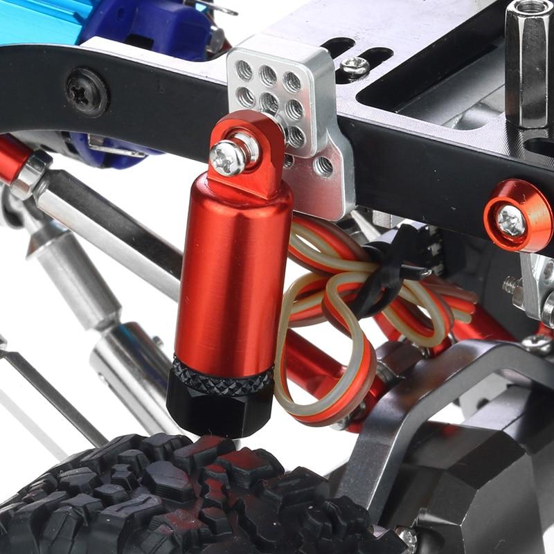 Metal Adjustable Shock Absorber Damper with Extender Seat for WPL C14 C24 C34 C44 B14 B16 B24 1/16 RC Car Parts enlarge