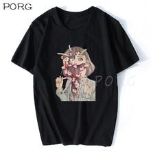 Mann Manga Junji Ito T Shirts Shintaro Kago Mädchen Tees Hemd Top Design kurzarm-Ästhetischen Japanischen Anime Hemd graphic Tees