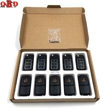 Универсальный 3 кнопочный дистанционный ключ Xhorse для VW, программатор VVDI2 типа B5, VVDI, 10 шт., XKB506