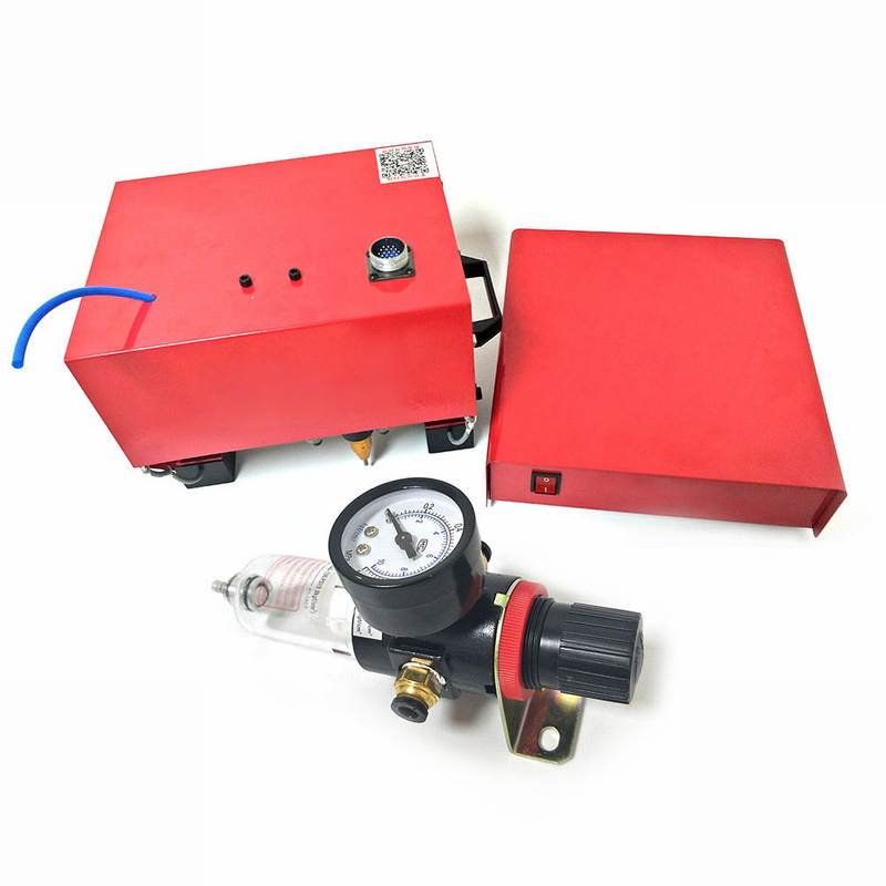 المحمولة آلة وسم ل VIN رمز هوائي نقطة ماكينة تعليم حد المطرقة (170*110 مللي متر) الهيكل رقم 220 فولت/110 فولت