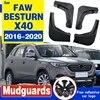 4PCS Mud Flaps per FAW BESTURN X40 2016 2017 2018 2019 2020 Paraspruzzi MudFlap Paraspruzzi Parafango Parafanghi Anteriore posteriore