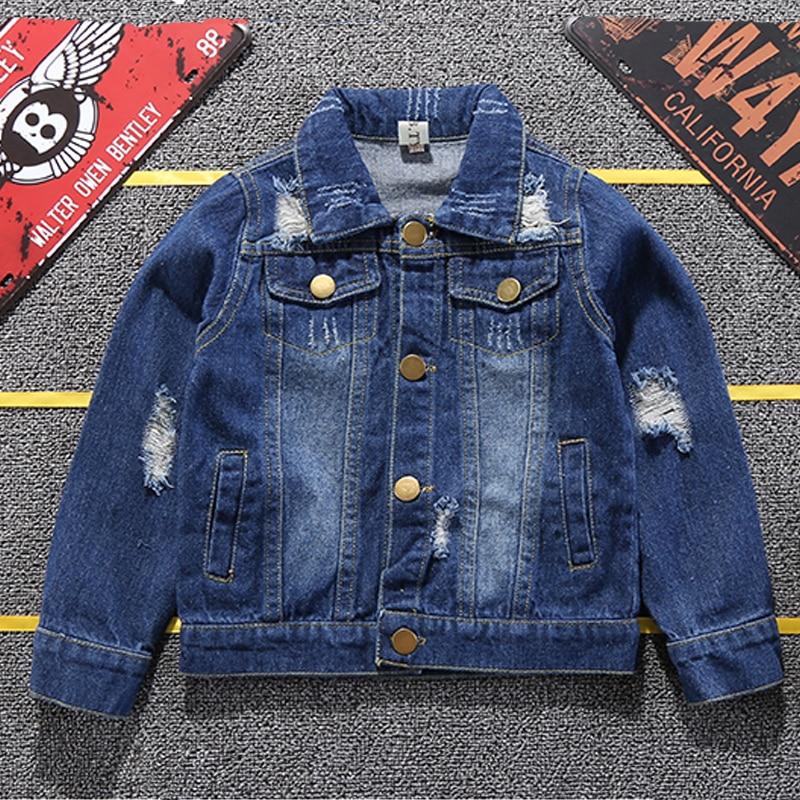 Baby Boys Donald Denim Jacket 2020 Spring Autumn Jackets Kids Cartoon Outerwear Coats For Boys Clothes Children Jacket 1-6 Yrs