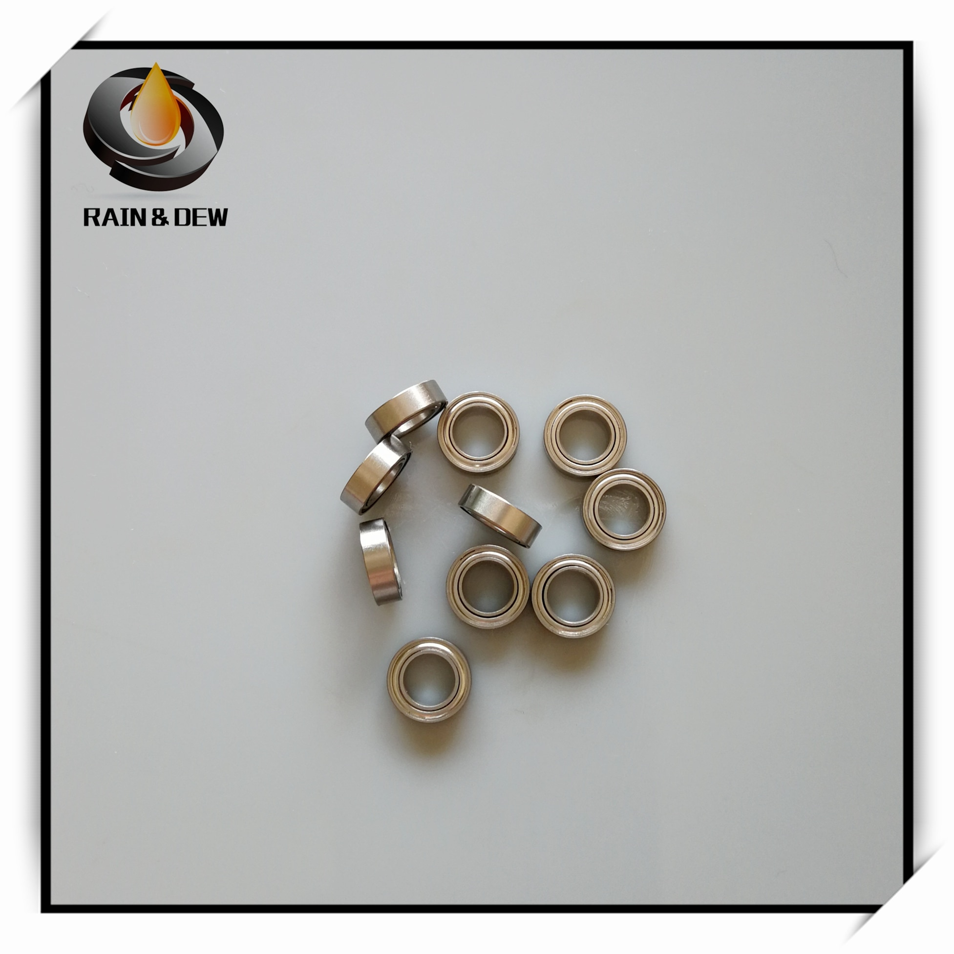 1Pcs  SMR95ZZ CB ABEC7 5X9X3 mm MR95 Stainless steel hybrid ceramic ball bearing RC  Bearing Set