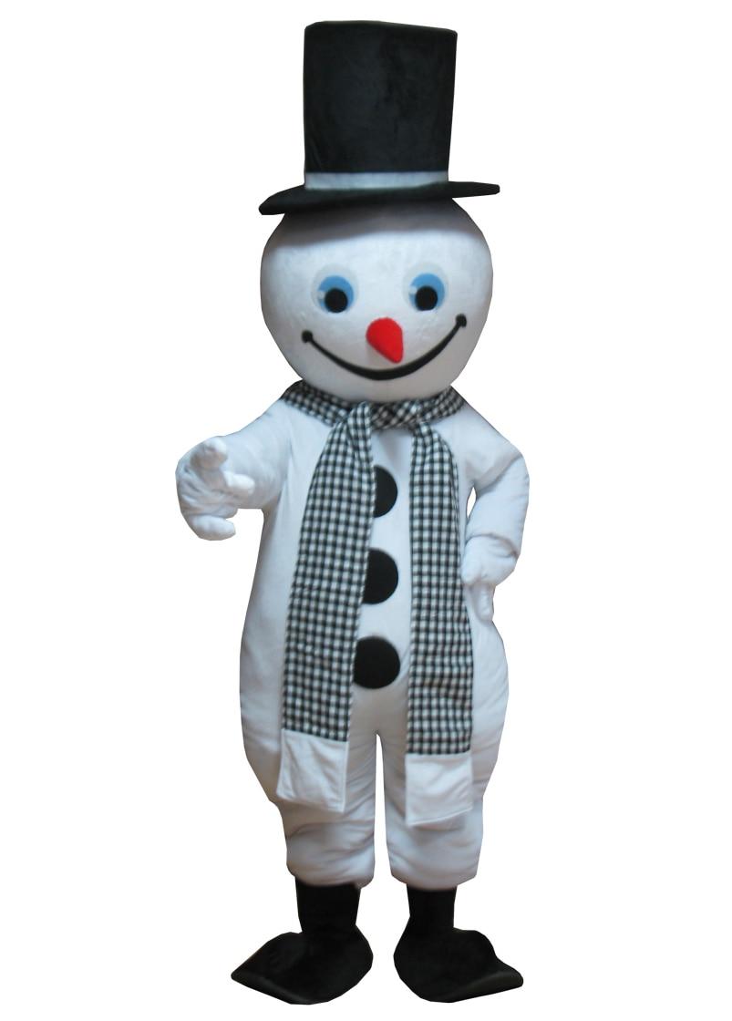 عالية الجودة بيع عيد الميلاد ثلج زي التميمة حفلة عيد الميلاد أداء زي التميمة حجم الكبار
