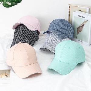 Men Women Outdoor Sport  Baseball Caps Spring Summer Fashion Letters Adjustable Men Women Casual Hat  Vintage Snapback  Cap New