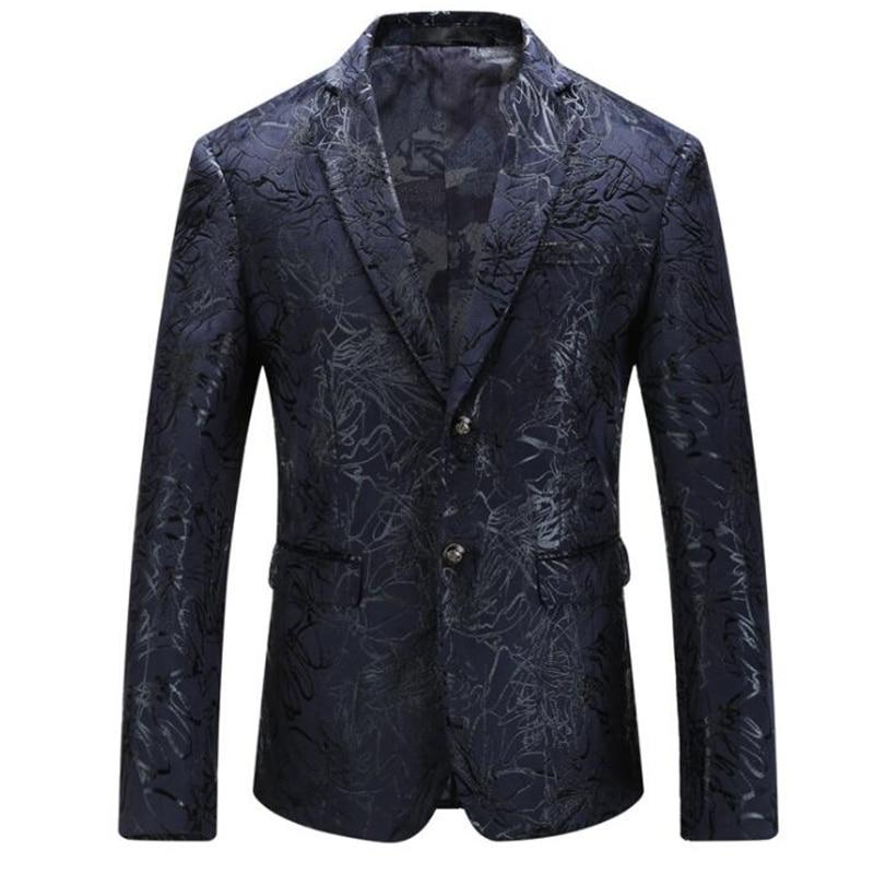 Chaquetas de primavera para hombre, trajes, chaquetas de talla grande, estilo británico,...
