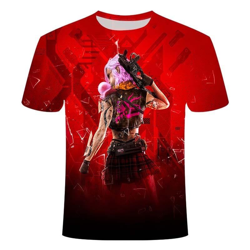 2020 nova camiseta masculina música belle camiseta 3d leisuret-camisa impressa gótico anime roupas de manga curta camiseta
