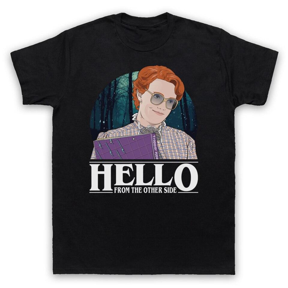 STRANGER THINGS BARB HELLO BARBARA ADELE PARODY UN, camiseta para hombre, ropa, camiseta