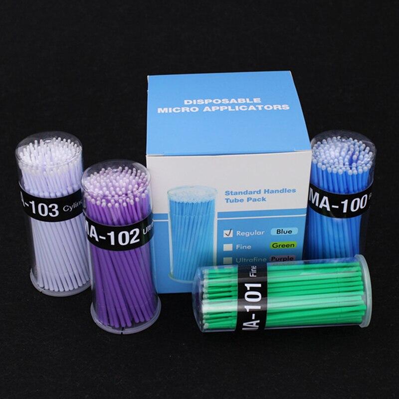 100 Stks/doos Dental Micro Brush Wegwerp Materialen Tand Applicators Sticks Mondhygiëne Tanden Care Pr Koop
