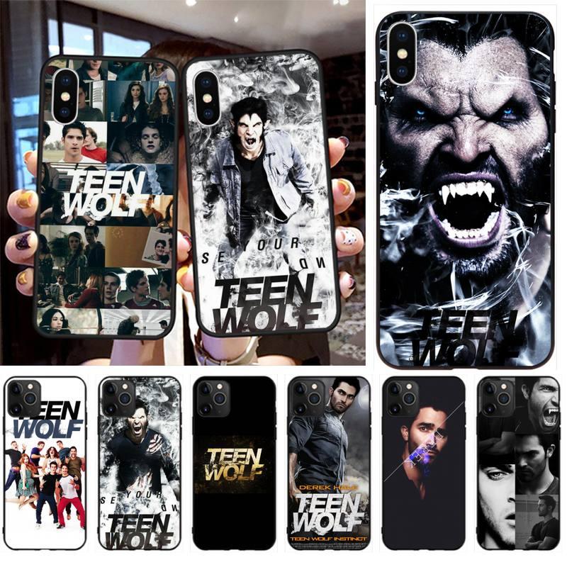 TV Teen Wolf Derek Hale de la cubierta de la caja del teléfono para IPhone 11 Pro XS MAX 8 7 6 6S Plus X 5S SE 2020 XR caso