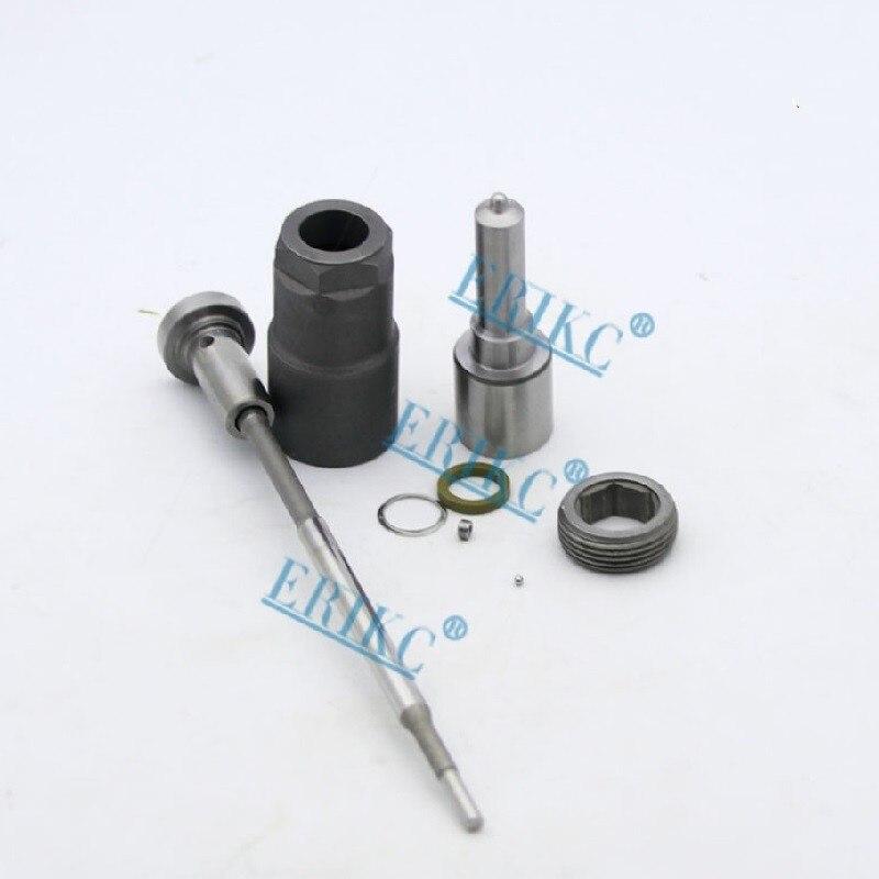 0445110120 0445110121 Kits de reparación de inyectores diésel boquilla DLLA156P1107 válvula F00VC01045 repuestos de inyección para Mercedes