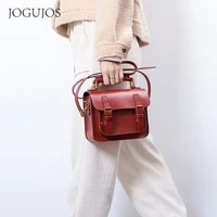 new leather womens bag cambridge bag vegetable tanned leather primary color hand bl shoulder bag retro cross body bag
