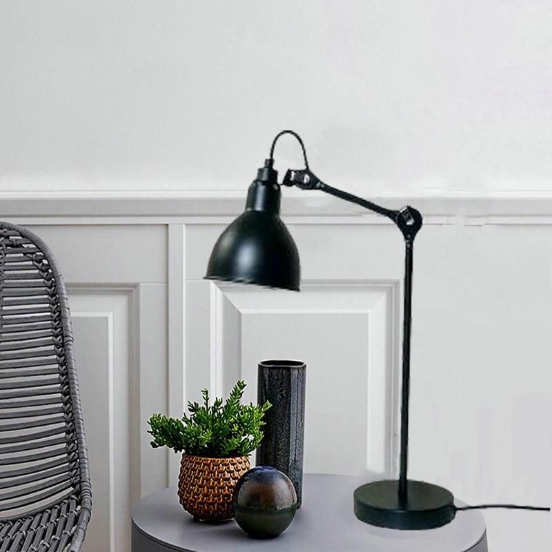 Minimalistas modernas lámparas de mesa LED ajustables para Pedestal mesa de salón habitación gabinete mesa escritorio decoración lectura iluminación