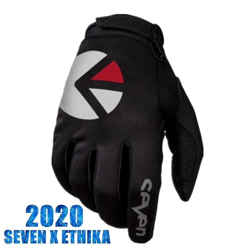 2019 Stream Fox Dirt Bike Gloves Top Quality Seven MX Motorcycle Gloves Moto Mountain Bike MTB Glove Black MX Gloves