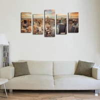 modern hd canvas painting nordic new york cityscape posters print wall art wall picture for living room home decoration
