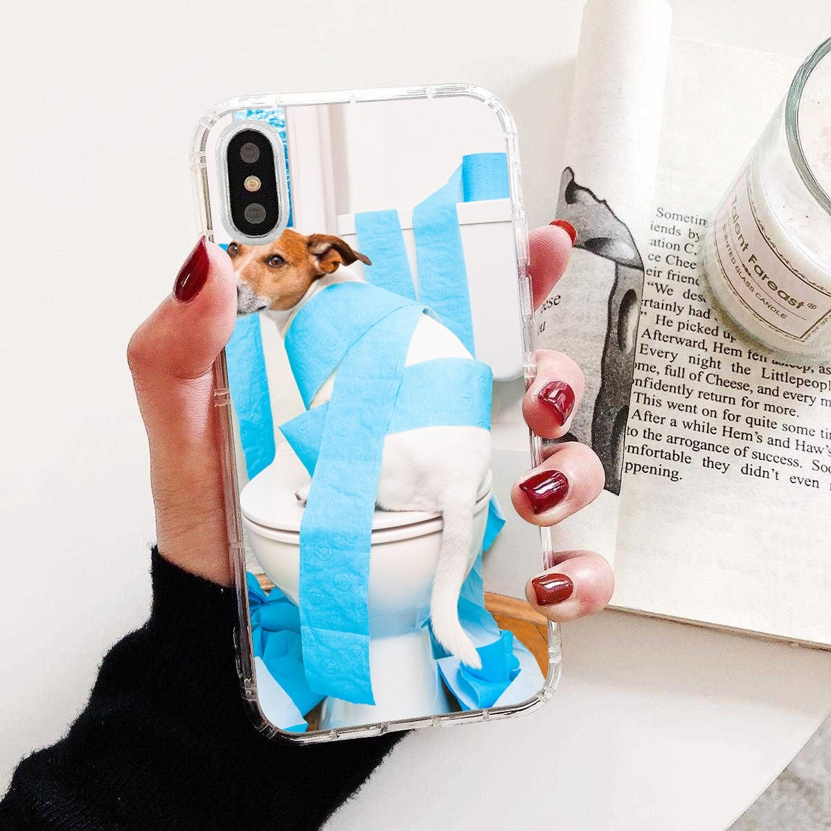 Jack Russell Terrier perro para Motorola Moto G G2 G3 X4 E4 E5 G5 G5S G6 Z Z2 Z3 C jugar Plus de silicona caso de Shell