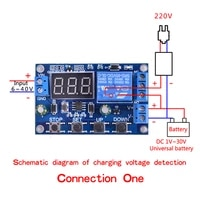 battery charger module discharger board undervoltage overvoltage protection board precision auto off module discharger