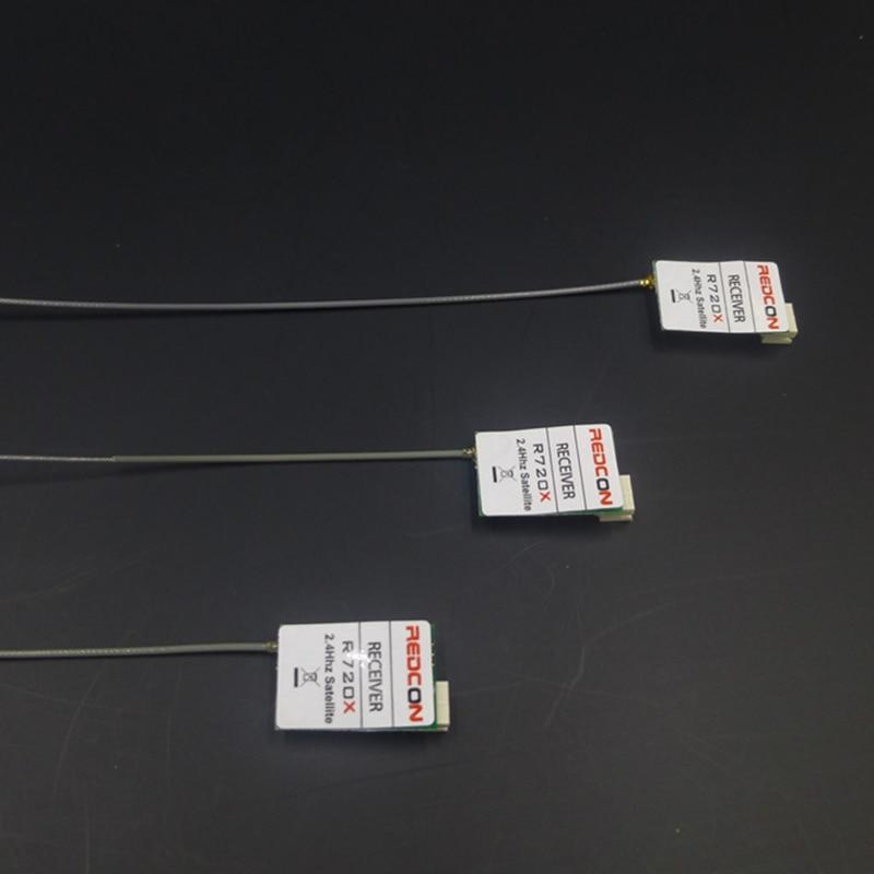 REDCON R720X 2,4 GHZ 20CH DSM-X DSM2 receptor Compatible para NAZA32 CC3D KK2 F3 Multiwii-APM V-Bar-5.3 de Control de vuelo