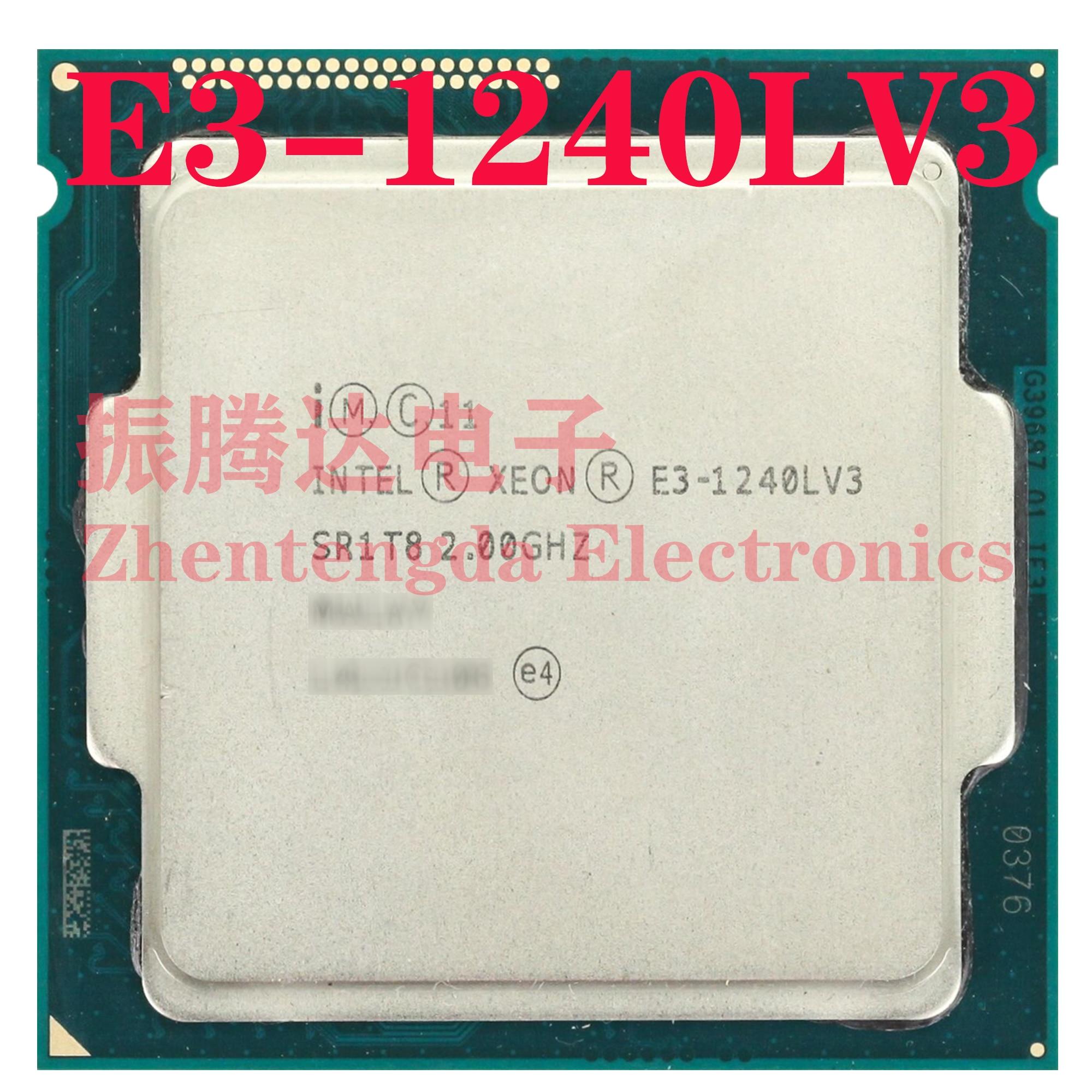Intel Xeon E3-1240L v3 2GHz 8MB 4 Core 8 Thread LGA 1150 E3-1240Lv3 CPU Processor
